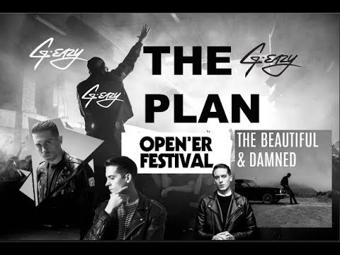 G EAZY - THE PLAN I NEW SONG I THE BEAUTIFUL & DAMNED I OPENER FESTIVAL I 2017 I GOPRO HD