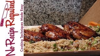 Soy Ginger Marinated Chicken Breasts - Noreciperequired.com
