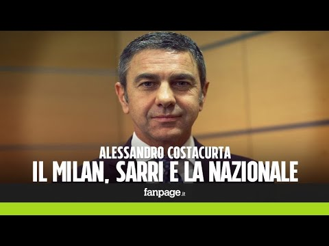 """Costacurta: """"Napoli e Juve da scudetto. Sarri? E' come Sacchi""""."""
