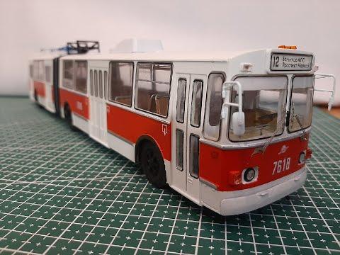 Модели троллейбусов ручной работы работа в вебчате новый оскол