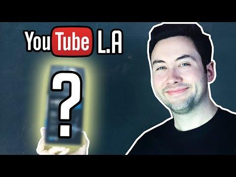1er Unboxing High-Tech chez Youtube à Los Angeles !