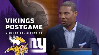 Vikings Postgame Replay: A Much-Needed Victory On The Road Against The New York Giants