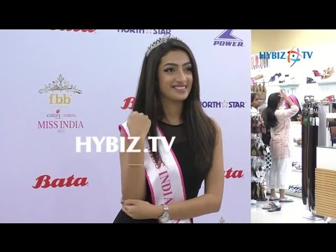 Sherlin Seth Femina Miss India Tamilnadu 2017 at Forum Vijaya Mall Chennai | hybiz
