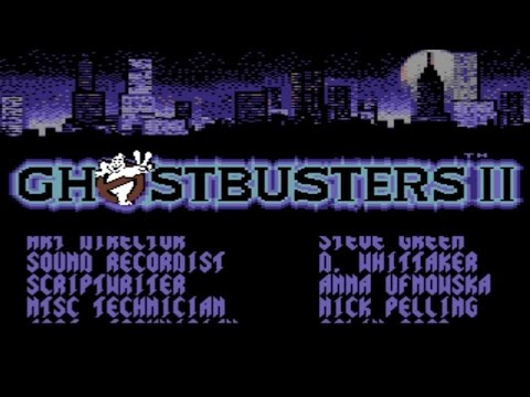 Movies to Video Games Review - Ghostbusters II (Amiga/C64)