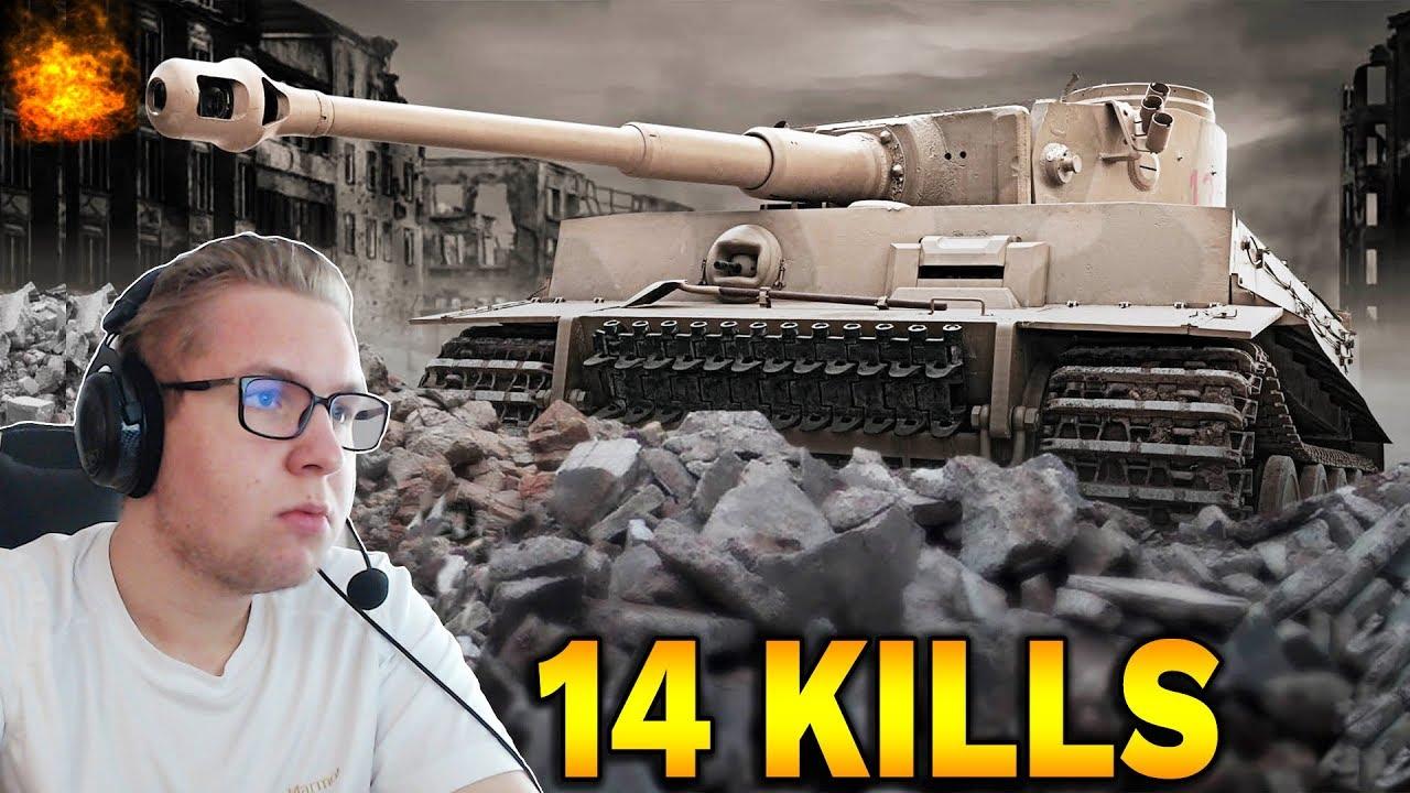 14 FRAGÓW – Tiger 131 w Epickiej Bitwie – World of Tanks