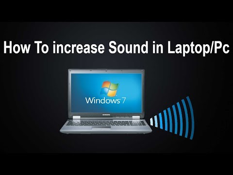 How To Increase Laptop / Pc  Sound Volume More Than 100% ( Acer Laptop, Hp Laptop, Samsung Laptop,)