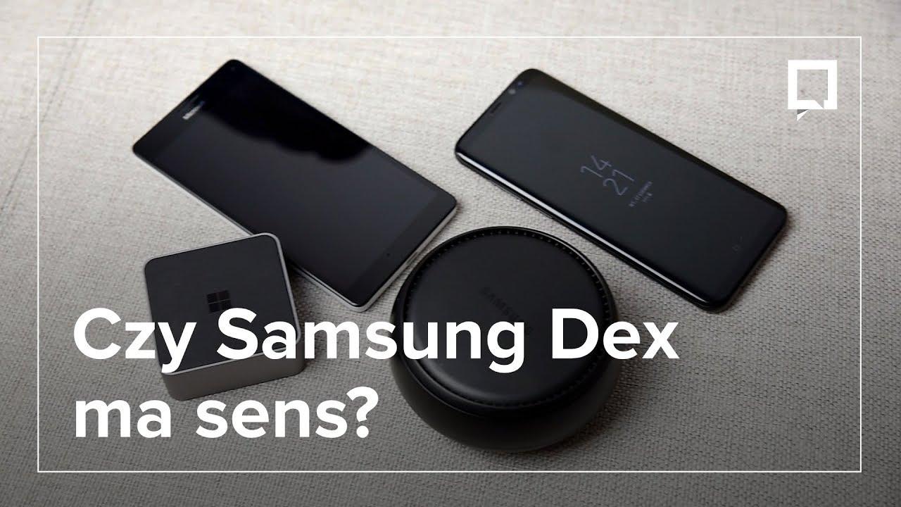 SAMSUNG DEX kontra reszta świata, czyli laptop i Lumia z HD-500