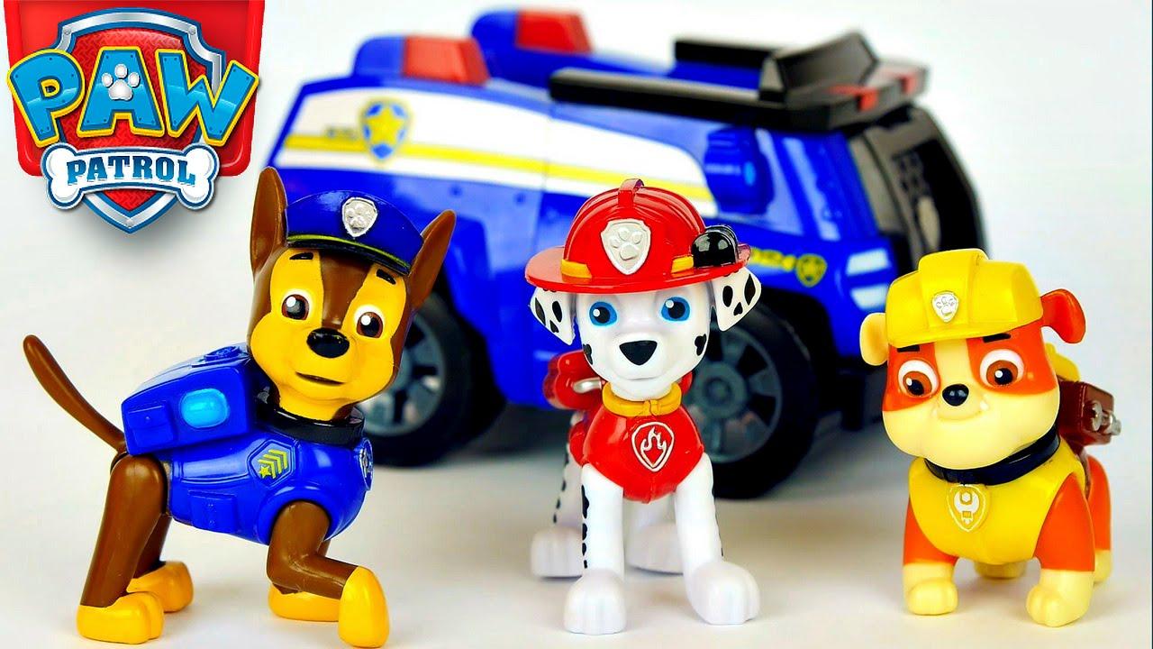 Щенячий патруль игрушки как их зовут