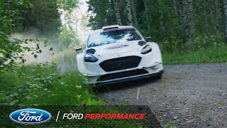 Sebastien Ogier and Sebastien Chabal WRC Fiesta Ride | Ford Performance