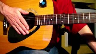 Как играть перебором на гитаре Урок-1 Первые Аккорды На Гитаре с Сергеем Бондаренко