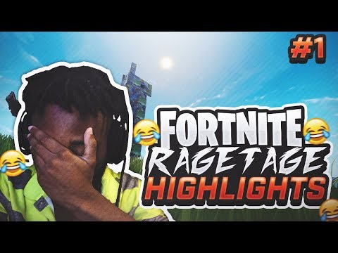 I NEVER THOUGHT THIS WOULD HAPPEN TO ME.. FORTNITE RAGETAGE / HIGHLIGHTS