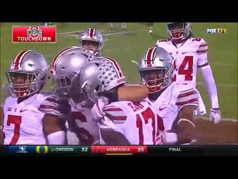 Ohio State Defense Highlights Versus Oklahoma 2016