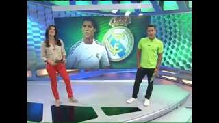 Esporte Espetacular: Cristiano Ronaldo se torna o jogador mais bem pago do planeta  HD  - 22/09/13