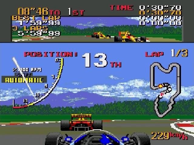 Jouez à Ayrton Senna's Super Monaco GP II sur Sega Megadrive grâce à nos systèmes retrogaming
