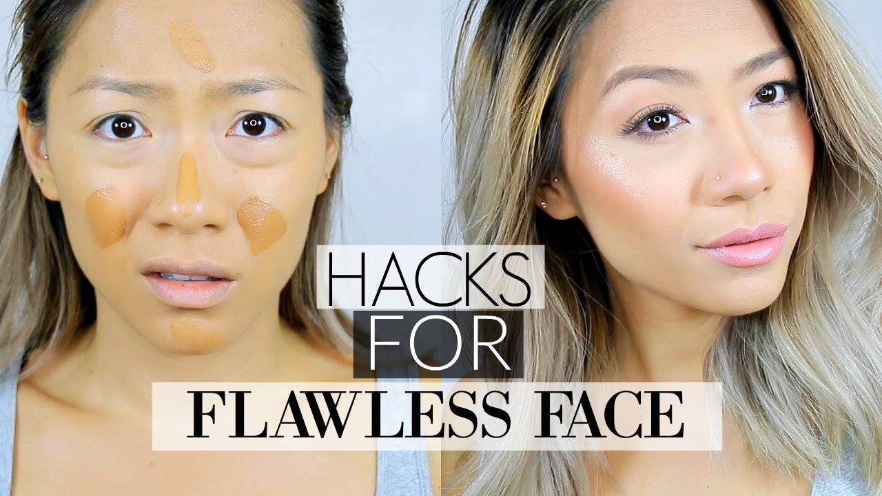 9 LIFE CHANGING FOUNDATION HACKS For a Flawless Face !  Tips & Tricks for  oily and dry skin