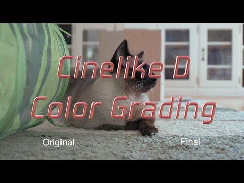 Cinelike D Color Grading Workflow