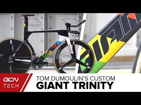 Tom Dumoulin's Giant Trinity | Abu Dhabi Tour 2018