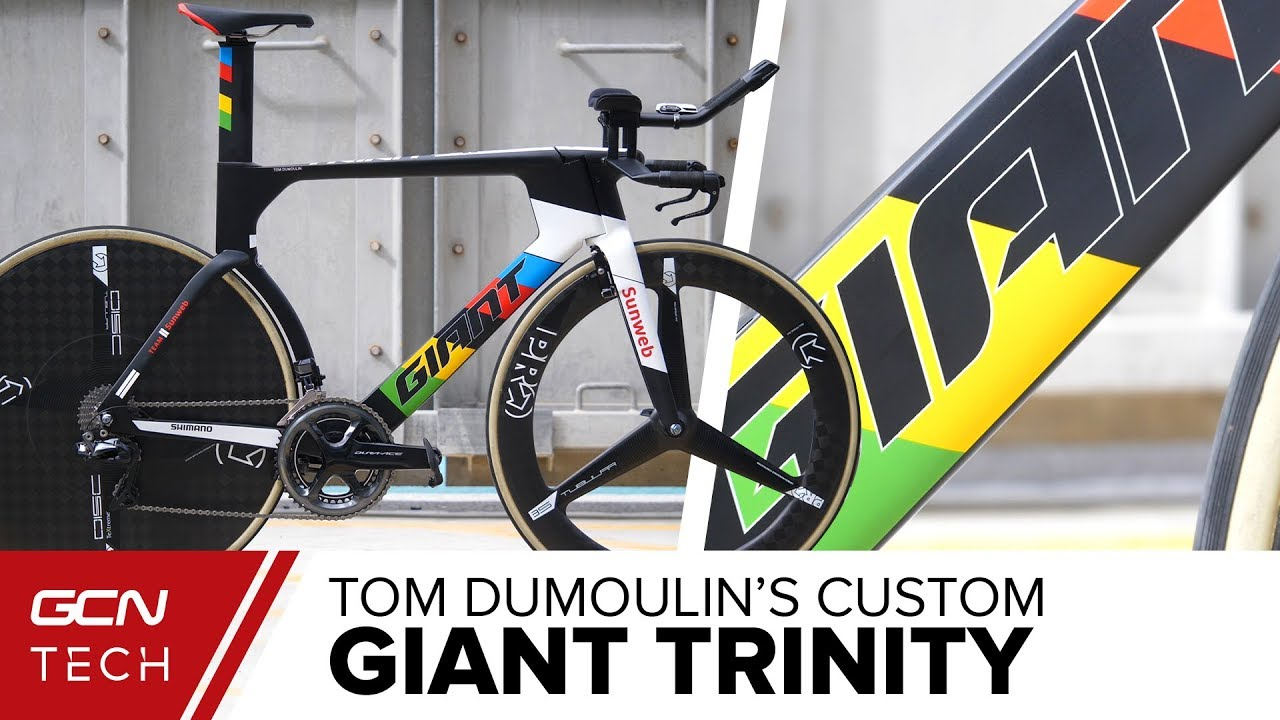 Tom Dumoulin S Giant Trinity Abu Dhabi Tour 2018 Youtube