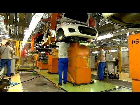 Видео сборки автомобилей Лада Гранта и Новая Лада Калина на конвейере АВТОВАЗа