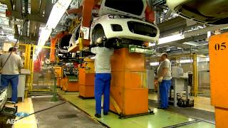 Видео сборки автомобилей Лада Гранта и Новая Лада Калина на конвейере АВТОВАЗа(, 2013-10-10T06:35:02.000Z)