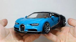 Bugatti Chiron из ПЛАСТИЛИНА сделал своими руками