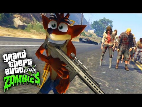 Crash Bandicoot - GTA San Andreas