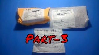 Aliexpress'ten Gelen Toplu Siparişler Paket Açılımı Unboxing Part-3  Yurtdış
