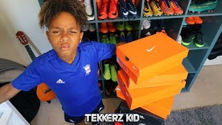 The FASTEST Football Boot Collection You'll Ever See!!