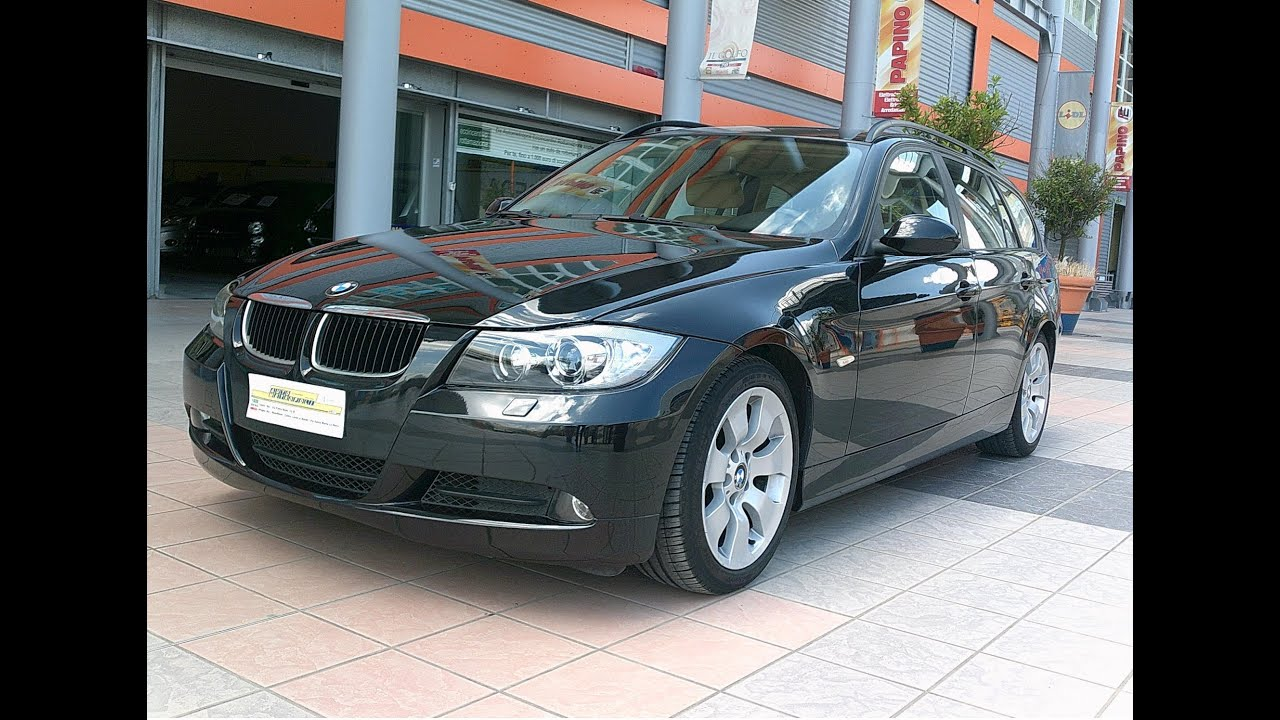 bmw serie 3 touring 320d 163cv msport youtube. Black Bedroom Furniture Sets. Home Design Ideas