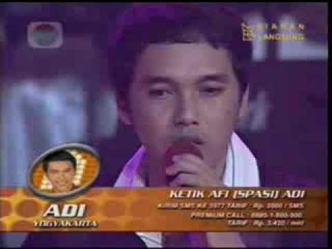 Adi Darma ( ADI AFI 2) - Aku Bukan Pilihan konser eliminasi AFI 2