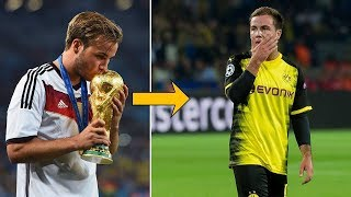 What the hell happened to Mario Götze? - Oh My Goal