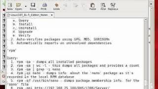Redhat Enterprise linux 5 RPM Package Management-Part3