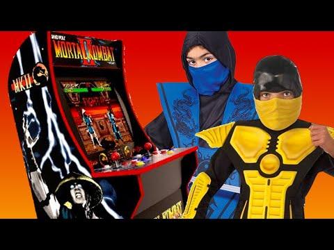 A Mini Mortal Kombat Kabinet to Teach Your Kids Fatalities - CES 2019 thumbnail