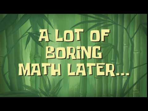 A Lot of Boring Math Later... | SpongeBob Time Card #106