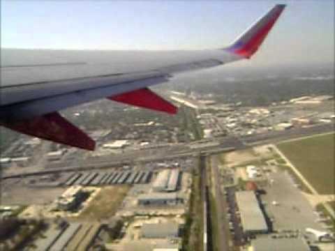 Take Off From San Antonio International Airport Youtube