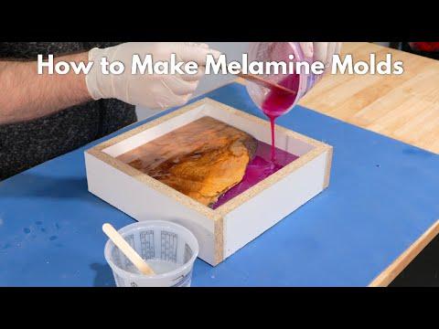 How to Make Melamine Molds