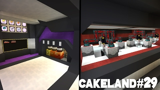 CakeLand FTB #29: Дизайн Главной Базы и Фабрика по Производству Металлов!