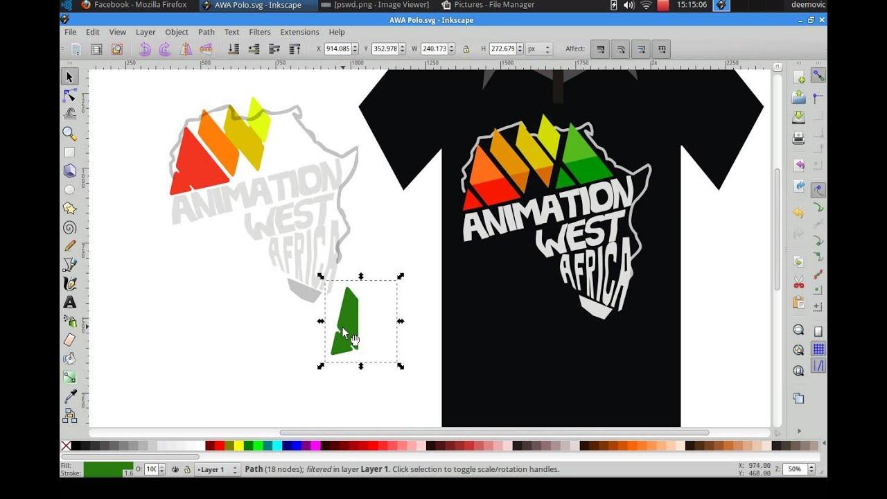 Designing a Simple Logo in Inkscape  GoInkscape!