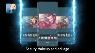 تطبيق معدل الصور المحترف وصانع الكولاج Beauty Makeup and collage