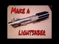 Make Luke Skywalker Lightsaber