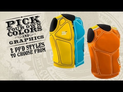 Custom Color Vest by Body Glove - Trevor Maur