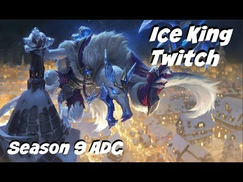 League of Legends: Ice King Twitch ADC Gameplay