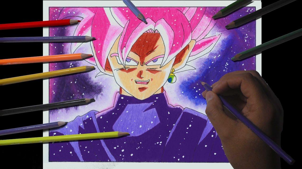 GOKU BLACK SSJ ROSE SAIYAN ( Como Dibujar A Goku Black Ssj