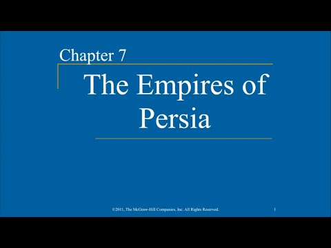 AP World History - Ch. 7 - The Empires of Persia