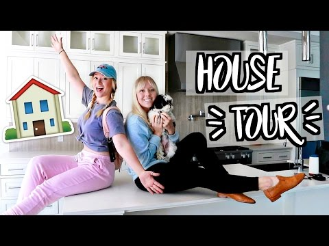 HOUSE TOUR! OUR NEW HOUSE!!!