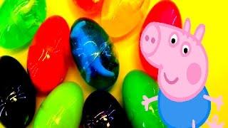 Свинка Пеппа. Лизуны и Динозавры. Бабушкины Сказки.Peppa Pig. Lizunov and Dinosaurs.