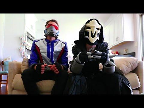Nerf War: Soldier 76 VS Reaper (Overwatch Inspired Nerf Mod!)