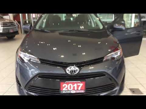 2017 Corolla LE - Milton Toyota