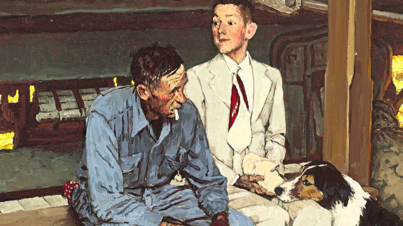 Kenneth Stuart & Norman Rockwell A Storied Collaboration