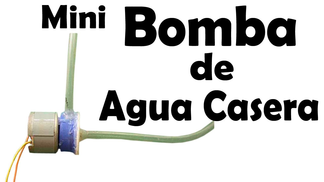 mini bomba de agua casera f cil de hacer youtube